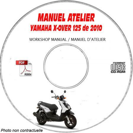 X-OVER 125 10 - Manuel Atelier CDROM YAMAHA