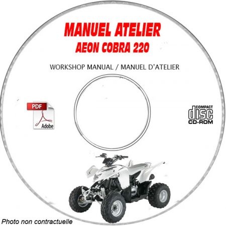 COBRA 220 Manuel Atelier CDROM AEON Anglais