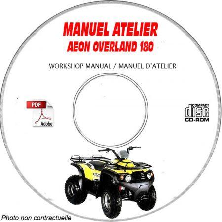 OVERLAND 180 Manuel Atelier CDROM AEON Anglais