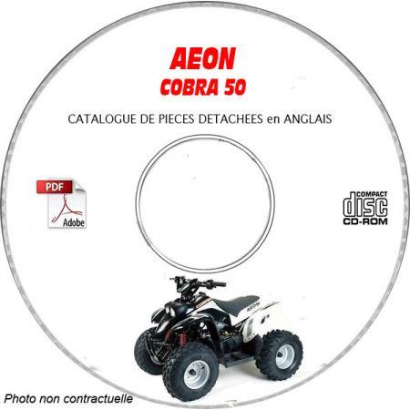 COBRA 50 -01 Catalogue Pièces CDROM AEON Anglais