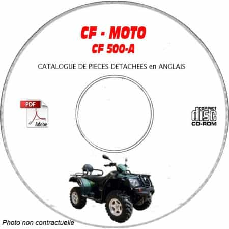 CF500-A2 -06 Catalogue Pièces CDROM CF-MOTOS Anglais