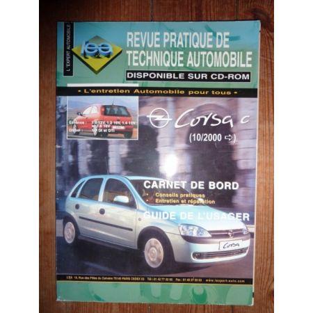 Corsa C dep 10/2000 Revue Technique Opel