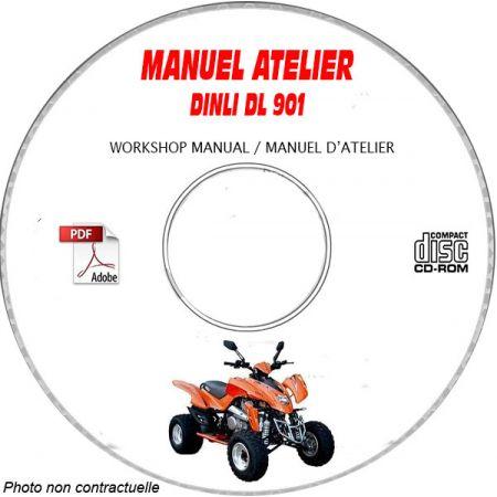 DL 901 -06 Manuel Atelier CDROM DINLI Anglais