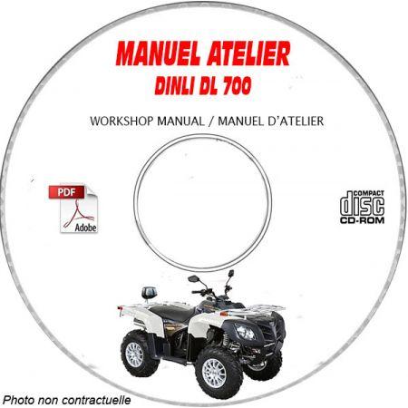 DL 700 -08 Manuel Atelier CDROM DINLI Anglais