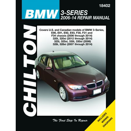 3-Series 06-10 Revue Technique Haynes Chilton BMW Anglais