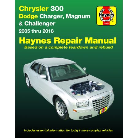 300 05-18 Charger Magnum Revue technique Haynes CHRYSLER Anglais