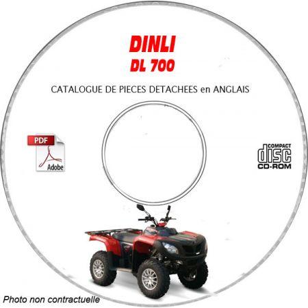 DL700 -06 Catalogue Pièces CDROM DINLI Anglais