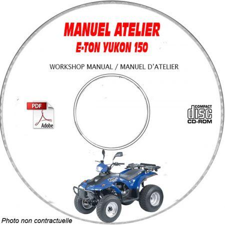 Yukon 150 Manuel Atelier CDROM E-TON Anglais