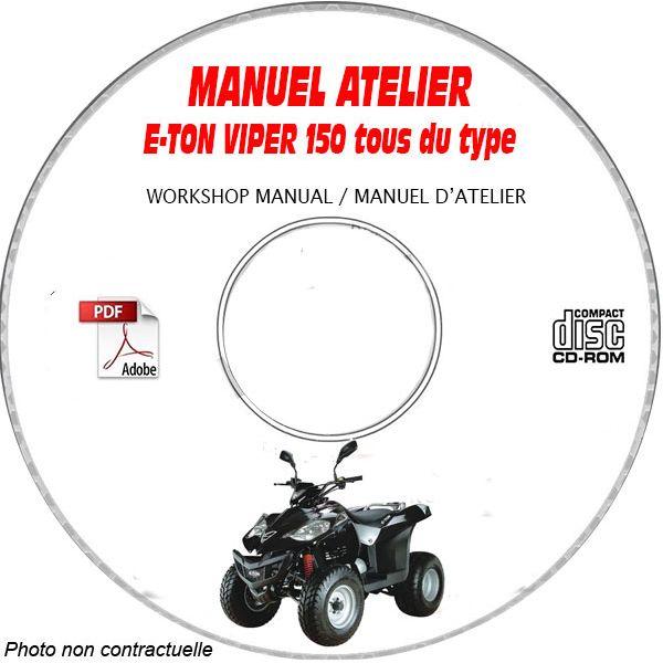 VIPER 150  Manuel Atelier CDROM E-TON Anglais