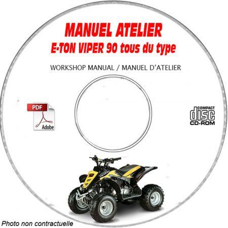 VIPER 90 Manuel Atelier CDROM E-TON Anglais
