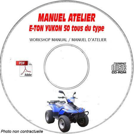 YUKON 50 Manuel Atelier CDROM E-TON Anglais