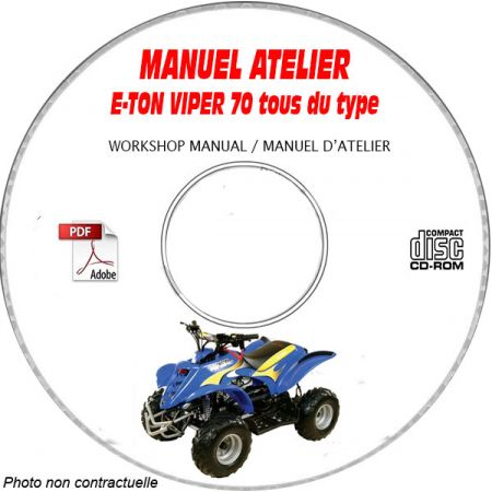 VIPER 70 Manuel Atelier CDROM E-TON Anglais