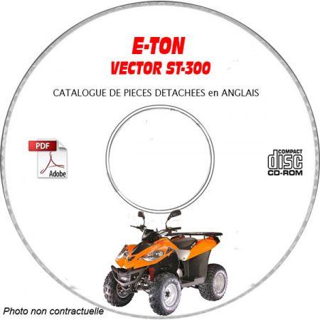 VECTOR ST-300 Catalogue Pièces CDROM E-TON Anglais