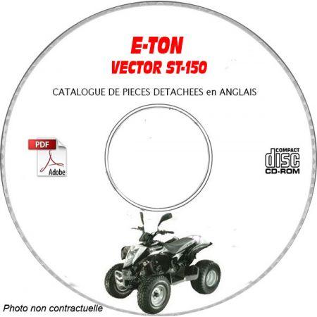 VIPER ST-150 -05 Catalogue Pièces CDROM E-TON Anglais