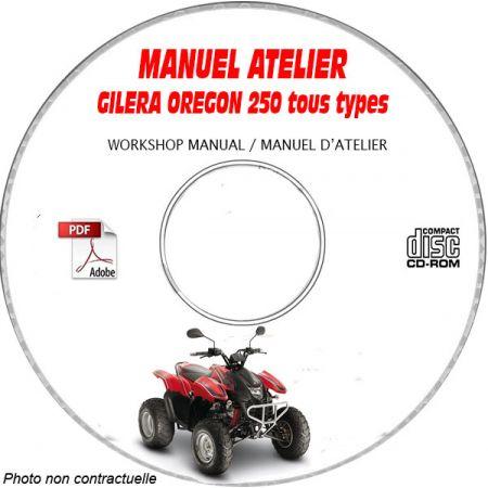 OREGON 250 -07 Manuel Atelier CDROM GILERA FR