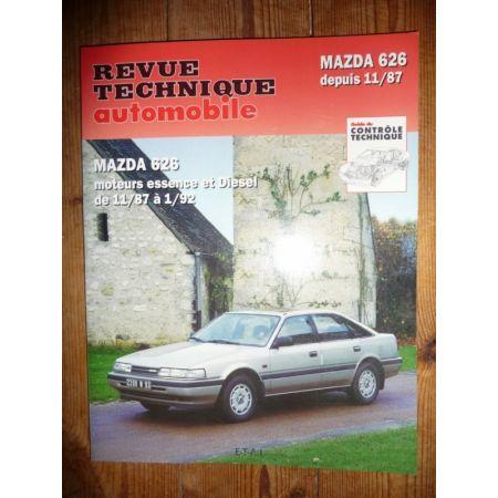 626 87-92 Revue Technique Mazda