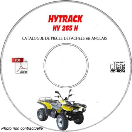 HY265 H - Catalogue Pieces CDROM HYTRACK FR