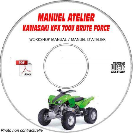 MANUEL D'ATELIER KFX 700V 2003