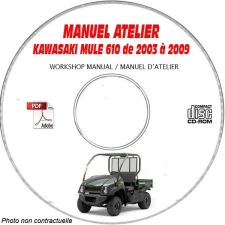 MANUEL D'ATELIER MULE 610 4X4