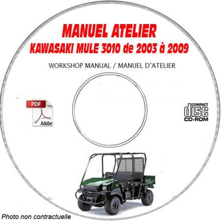 MANUEL D'ATELIER MULE 3010 TRANS 4X4