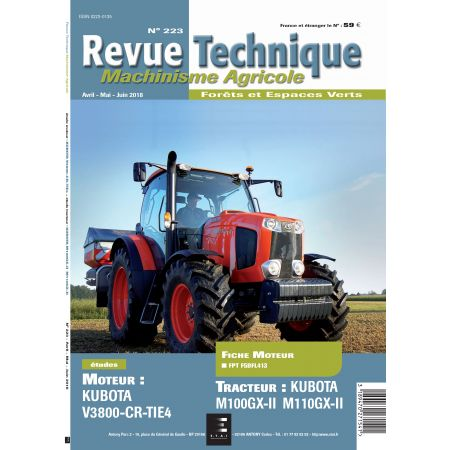 M100GX-II - M110GX-II - Revue Technique Agricole KUBOTA