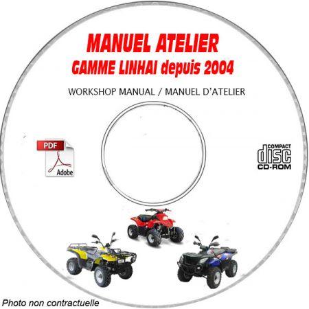 Gamme - Manuel Atelier CDROM LINHAI Anglais