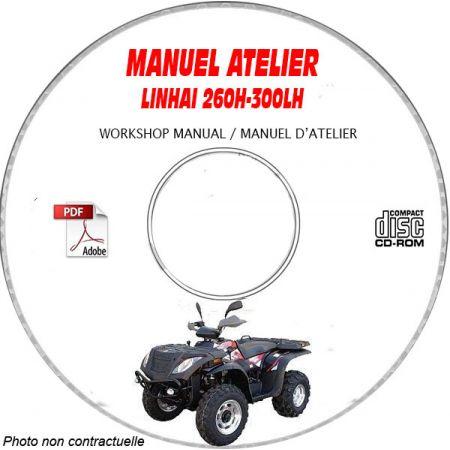 260H-300LH 04- Manuel Atelier CDROM LINHAI Anglais