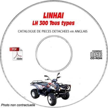 300LH Catalogue Pièces CDROM LINHAI Anglais