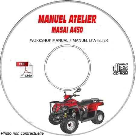 A450 Manuel Atelier CDROM MASAI Anglais