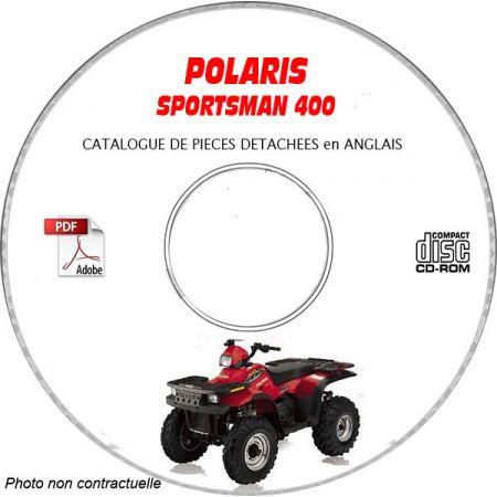 SPORTSMAN 400 -05 Catalogue Pièces CDROM POLARIS Anglais