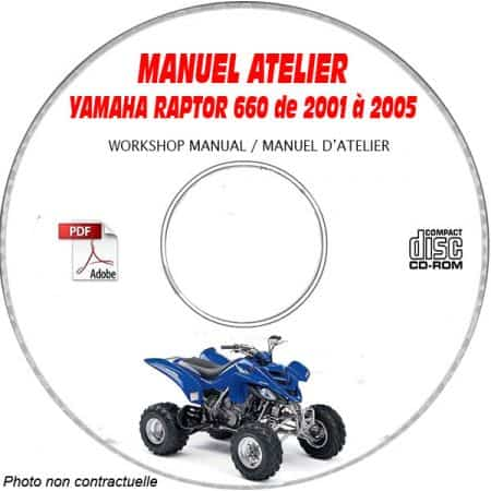 MANUEL D'ATELIER 660 RAPTOR
