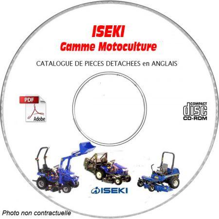 GAMME COMPLETE Catalogue Pièces CDROM ISEKI