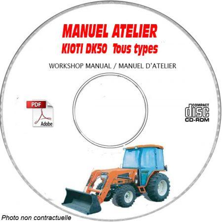 DK50 - Manuel Atelier CDROM KIOTI anglais