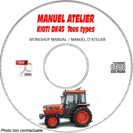 DK45 - Manuel Atelier CDROM KIOTI anglais