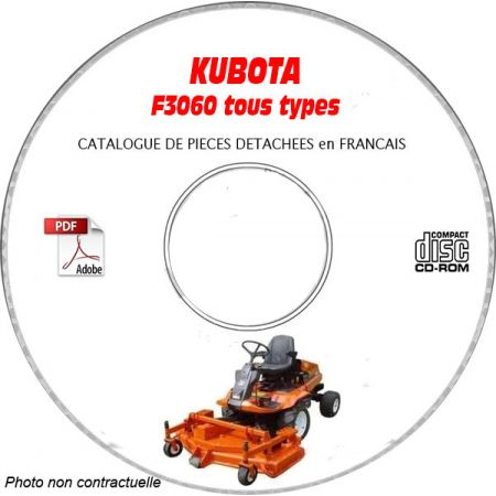 F3060 -06 Catalogue Pieces CDROM KUBOTA FR