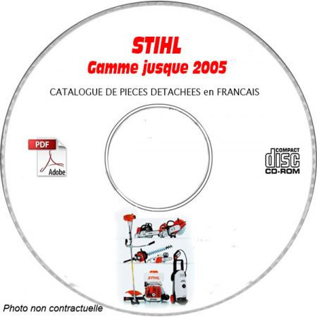 Gamme -05 - Catalogue Pieces CDROM STIHL FR