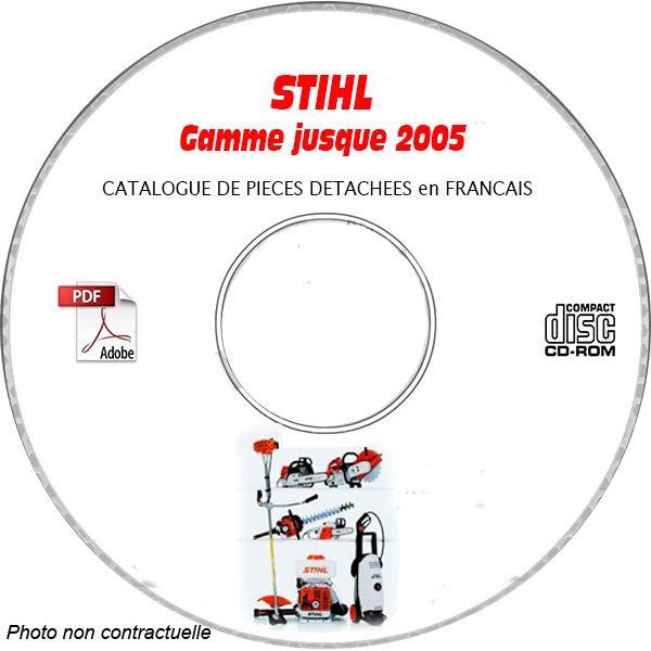 Gamme -05 - Catalogue Pieces CDROM STIHL FR