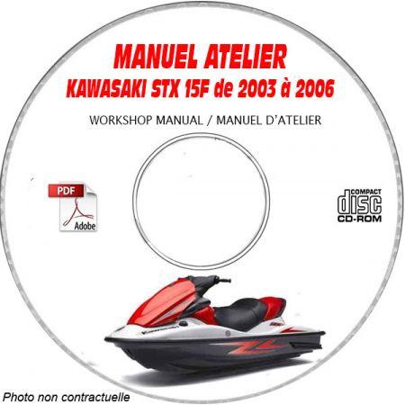 STX 15F 03-06 Manuel Atelier CDROM KAWASAKI Revue technique