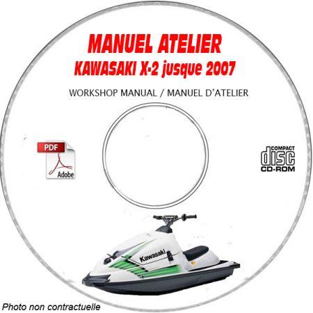 X2 -06 Manuel Atelier CDROM KAWASAKI Anglais