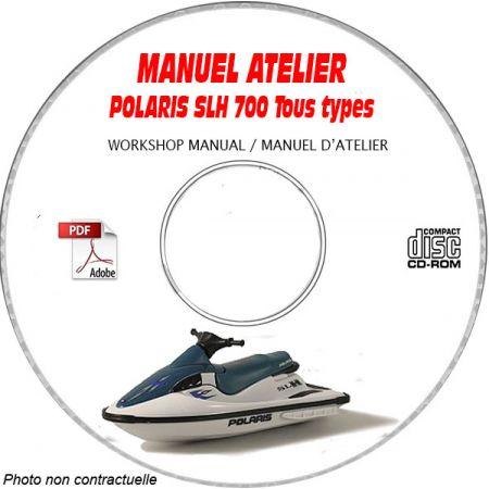 SLH 700 00 Manuel Atelier CDROM POLARIS Anglais