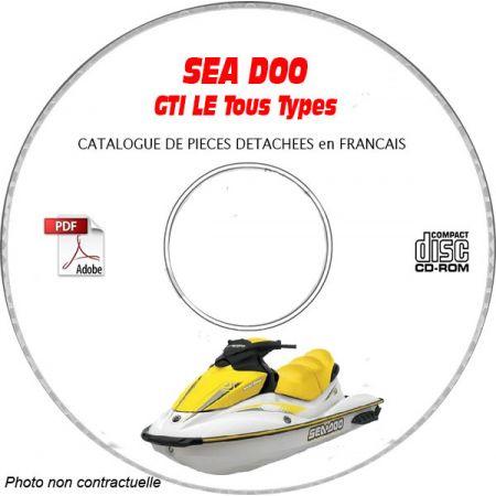 GTI LE 2003 Catalogue Pièces CDROM SEA-DOO FR