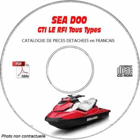 GTI LE RFI 2003 Catalogue Pièces CDROM SEA-DOO FR