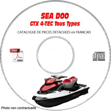 GTX 4-TEC 2003 Catalogue Pièces CDROM SEA-DOO FR