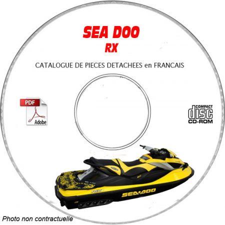 RX DI 2003 Catalogue Pièces CDROM SEA-DOO FR
