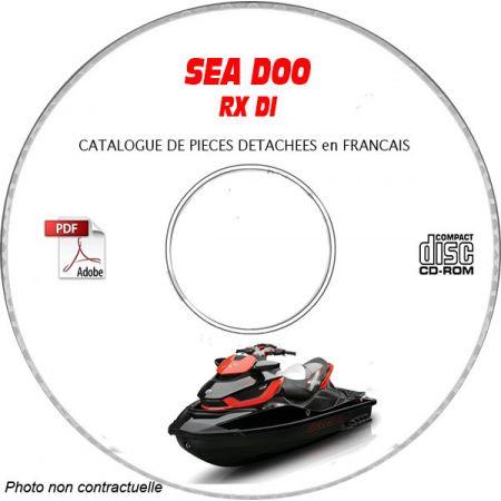 RX DI- Catalogue Pieces CDROM SEA-DOO FR