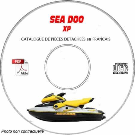 XP DI 2003 Catalogue Pièces CDROM SEA-DOO FR