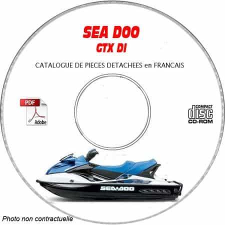 GTX DI 2003 Catalogue Pièces CDROM SEA-DOO FR