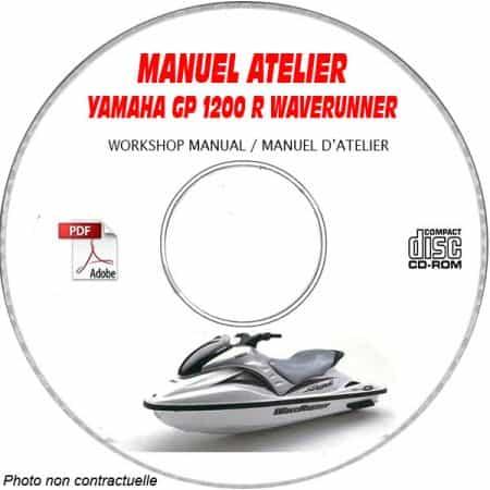 GP 1200R WAVERUNNER Manuel Atelier CDROM YAMAHA Revue technique