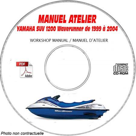 MANUEL D'ATELIER SUV 1200 WAVERUNNER
