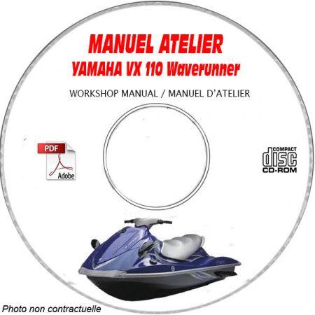 MANUEL D'ATELIER VX 110 WAVERUNNER